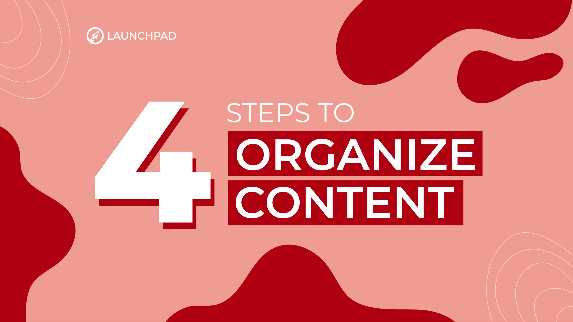 4 steps to organizing content like a powerhouse