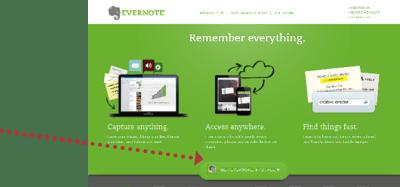CTA - Evernote