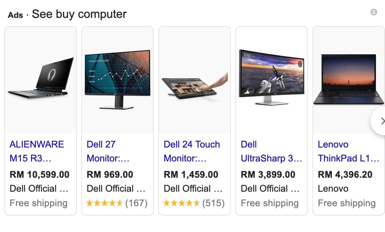 Promotion laptop desktop