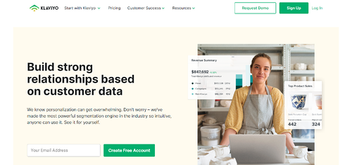 Email & SMS Marketing Software Platform _ Klaviyo