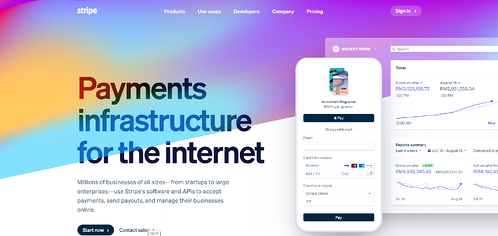 Payment infrastructure for the internet