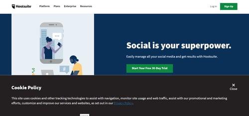 Social Media Marketing & Management Dashboard - Hootsuite