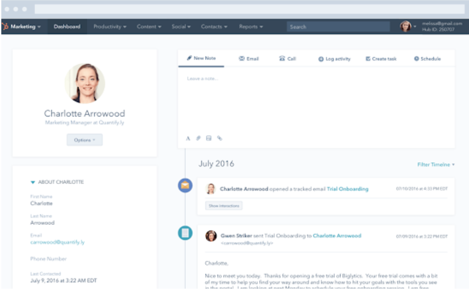 Hubspot CRM: Track & Nurture Leads - 11 Best Inbound Marketing Tools to Boost Your Business in 2021