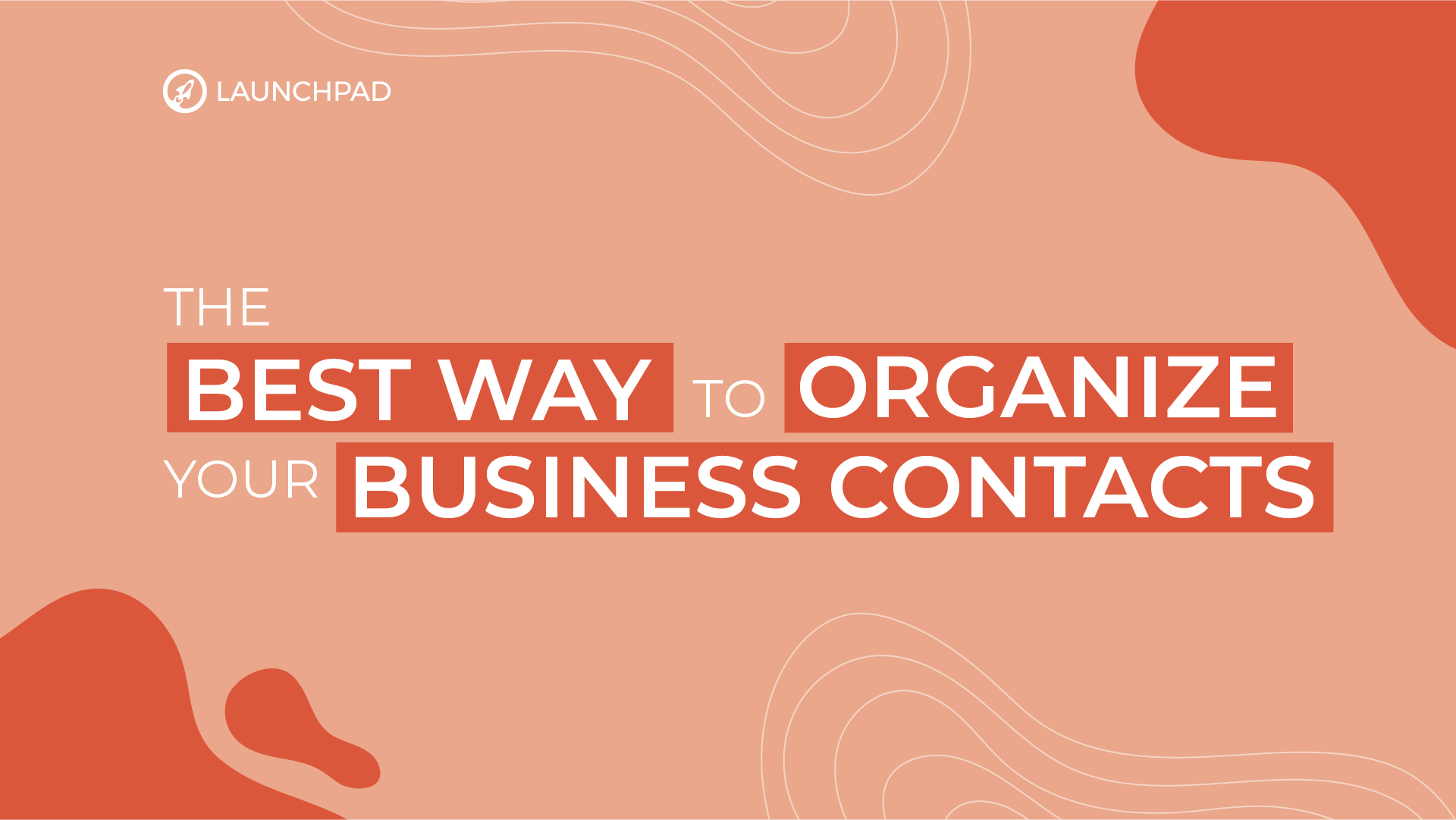 Simply the best way to organize your business contacts